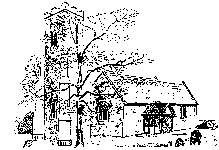 Drawing of St. Mary's Church by the late Mr. Cyril Smith.