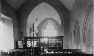 Hinderclay Church  c1920?
