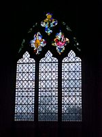 East window from the inside.