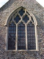 East window from outside.