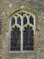 The vestry window.
