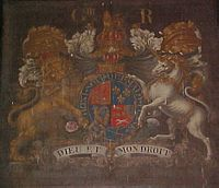 The Royal Arms of George III.